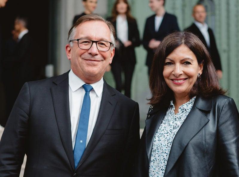 Bruno Pavlovsky & Anne Hidalgo