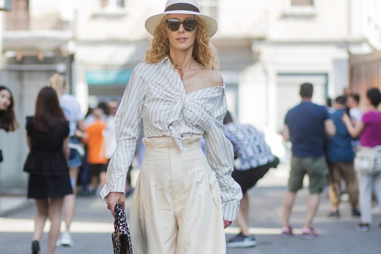 Trend alert: la camicia con il nodo