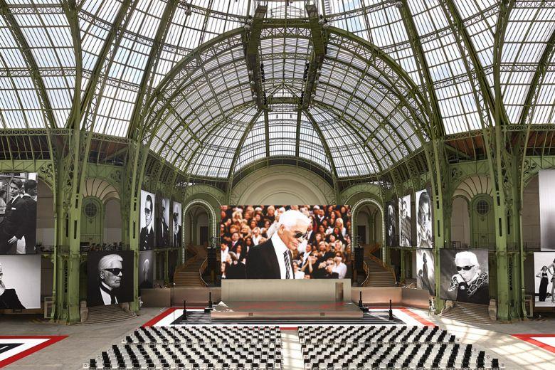 """""""Karl For Ever"""": il grandioso evento al Grand Palais di Parigi per celebrare Karl Lagerfeld"""