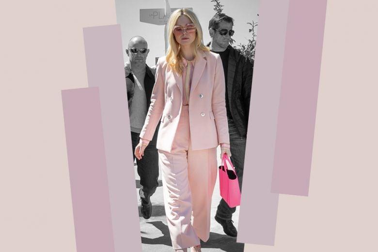 Il look total pink di Elle Fanning? È già un tormentone!