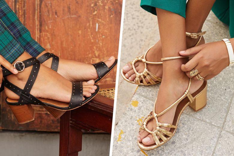 Sandali con tacco medio: i modelli comodi e chic da sfoggiare subito