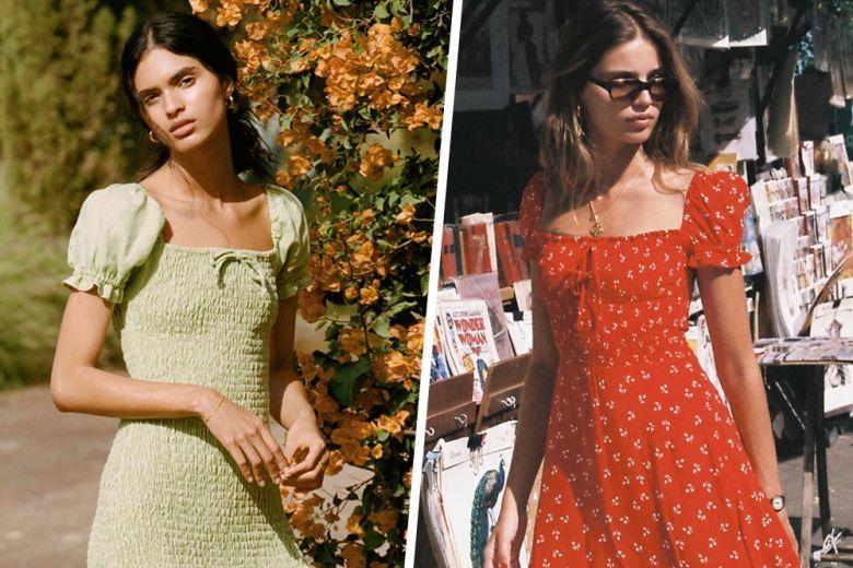 """Tendenza """"shirred"""": gli abiti arricciati più romantici e cool dell'estate"""