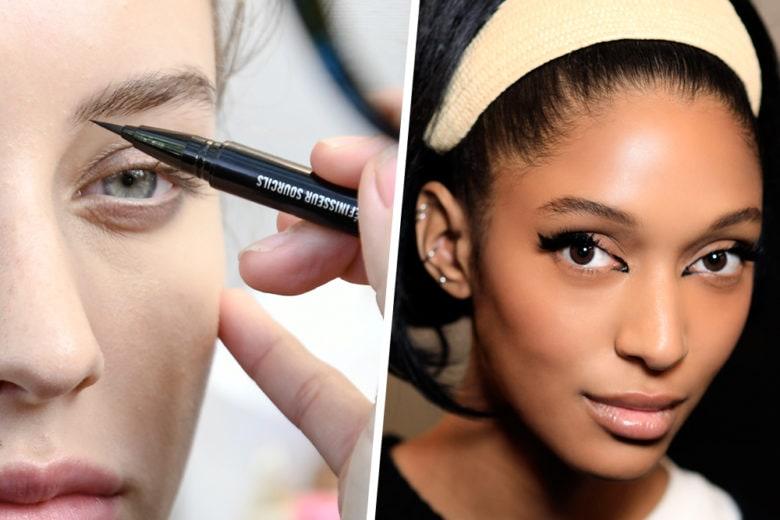 Make up trend: l'eyeliner opaco da indossare tutti i giorni