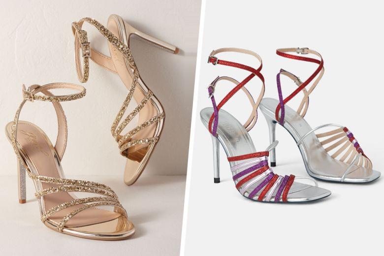 Scarpe e glitter: il binomio perfetto per un'estate scintillante!