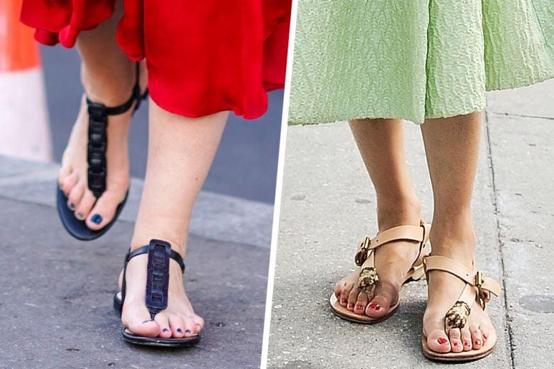 Come indossare le infradito: 5 look mix&match da copiare quest'estate