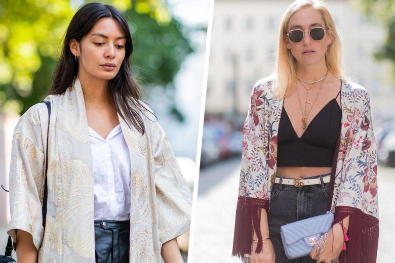 Kimono: i modelli più fashion dell'estate, da portare sia in vacanza che in città