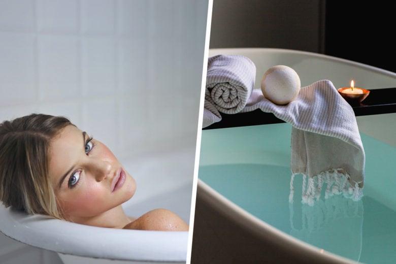 In vasca da bagno: tutti i prodotti alleati del relax a fine giornata