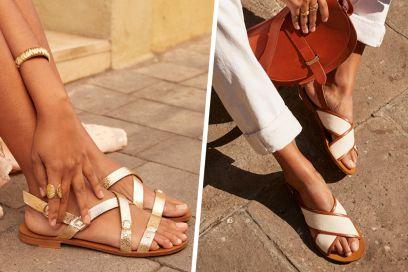 10 sandali bassi (comodi e super chic) da sfoggiare al mare e in città