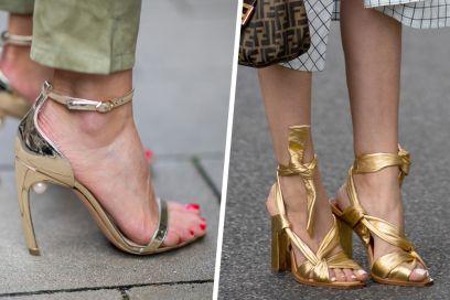 Sandali dorati: i modelli più chic per brillare quest'estate