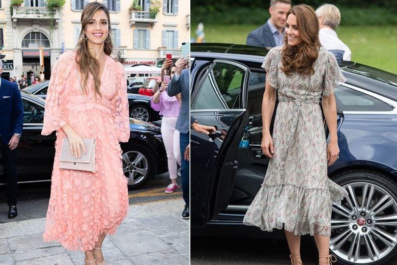 Jessica Alba, Kate Middleton e le altre star meglio vestite della settimana