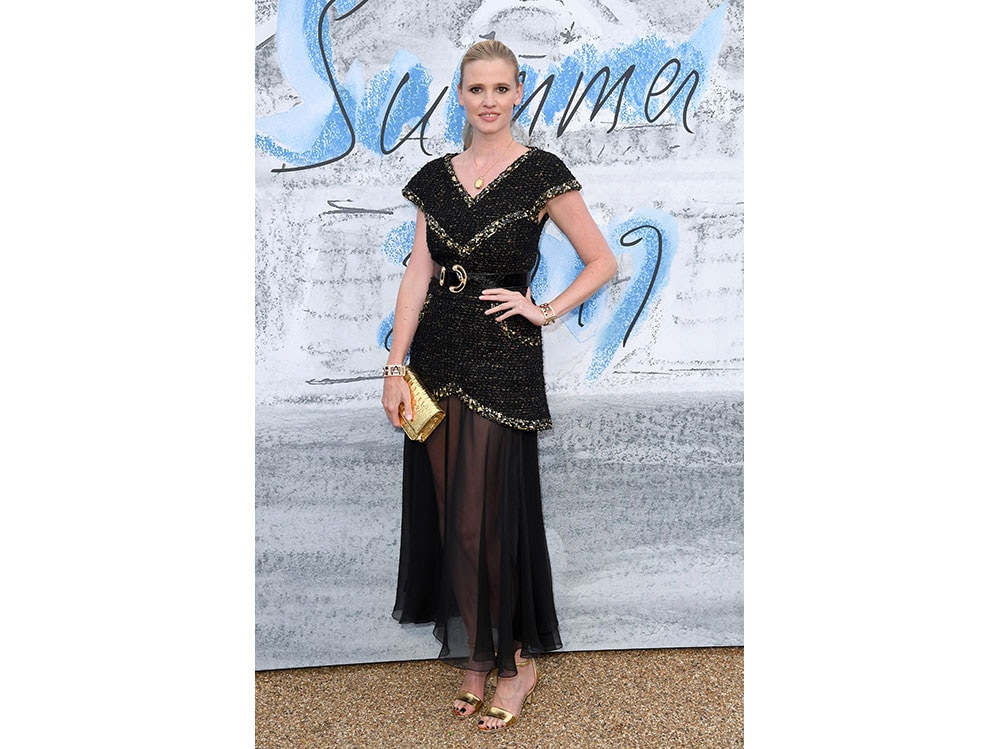 Lara-Stone-in-chanel-attends-The-Summer-Party-2019-Presented-By-Serpentine-Galleries-And-Chanel-at-The-Serpentine-Gallery-getty