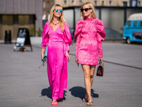 innovative design a914f 9d968 Abbigliamento rosa fucsia: vestiti e accessori per l'estate 2019