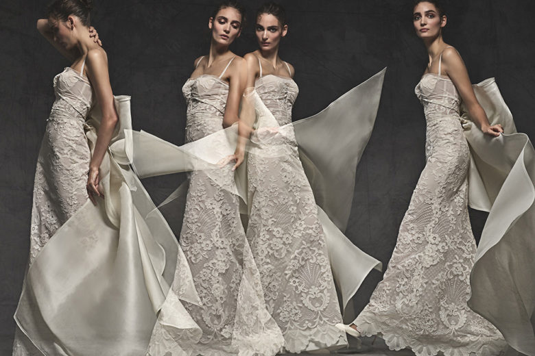Abiti da sposa: le novità per la Primavera 2020 dai migliori Atelier