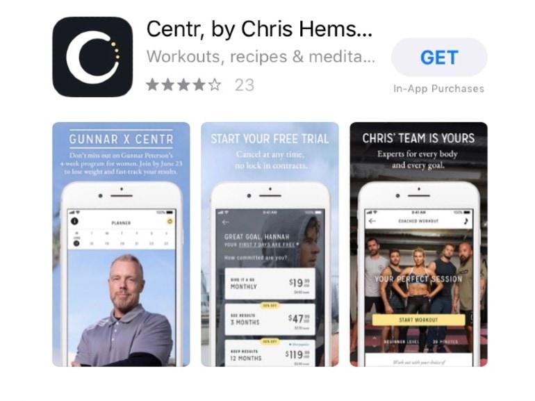 app centr