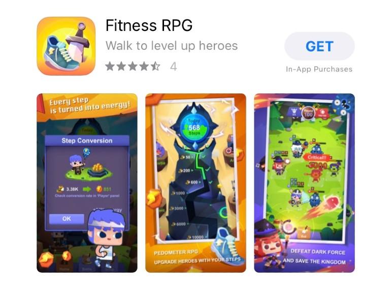 app fitness fantasy