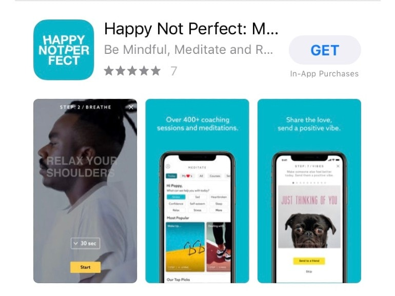 app happy not perfect