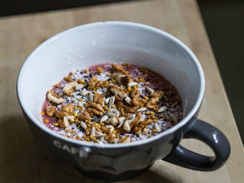 cereali integrali tazza