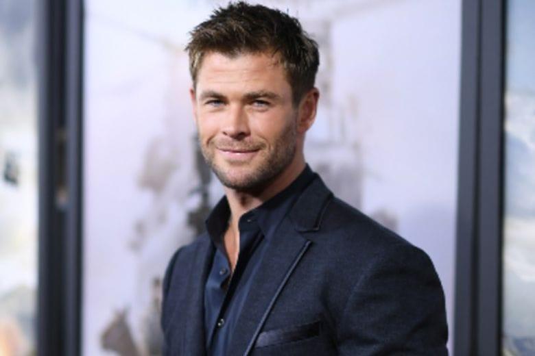 Chris Hemsworth rinuncia alla carriera per stare con la famiglia (per un po')