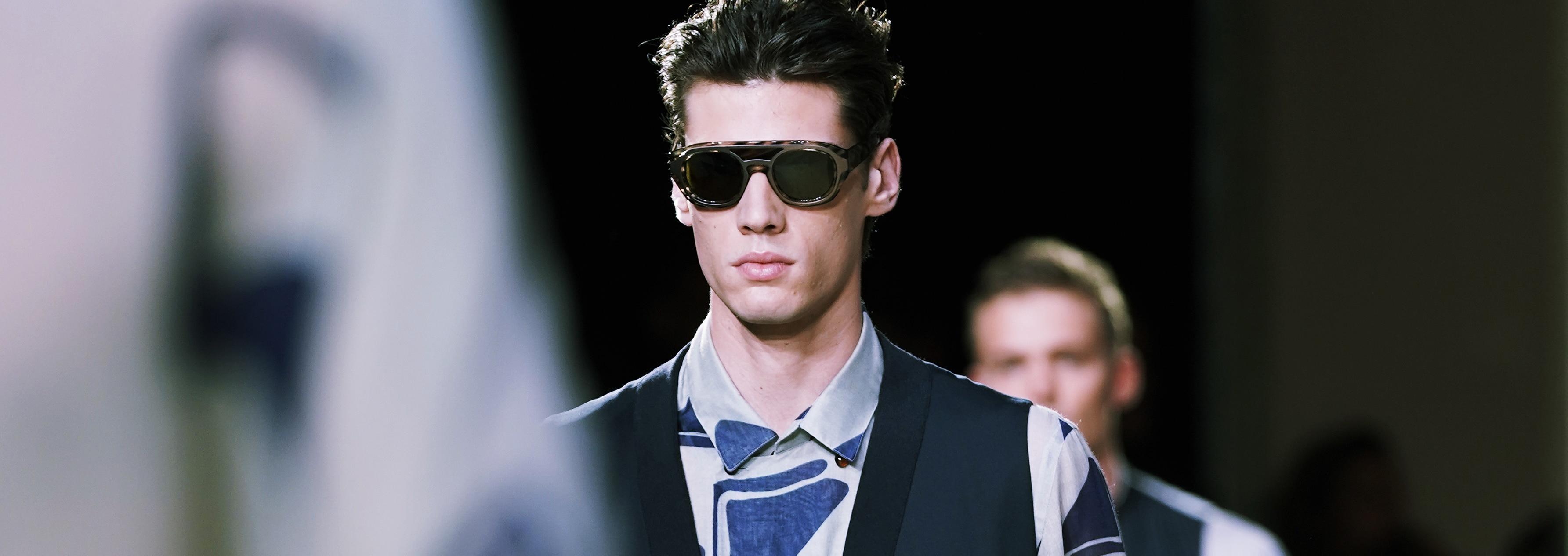 Abbigliamento Uomo Giorgio Armani - Runway - Milan Men's Fashion Week Spring/Summer 2020