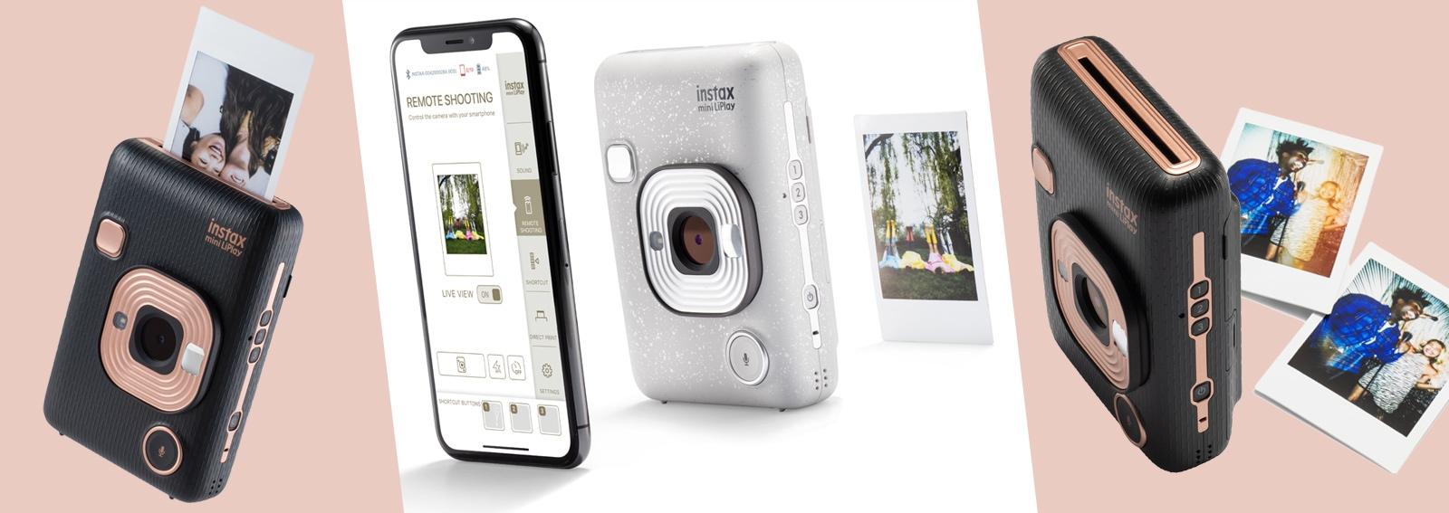 instax mini liplay nuova fotocamera ibrida super cool