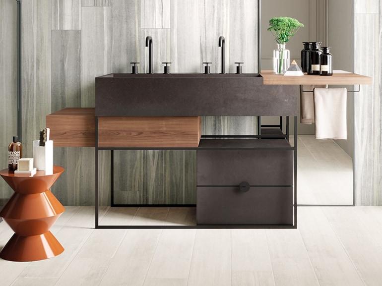 mobile bagno doppio lavabo 12