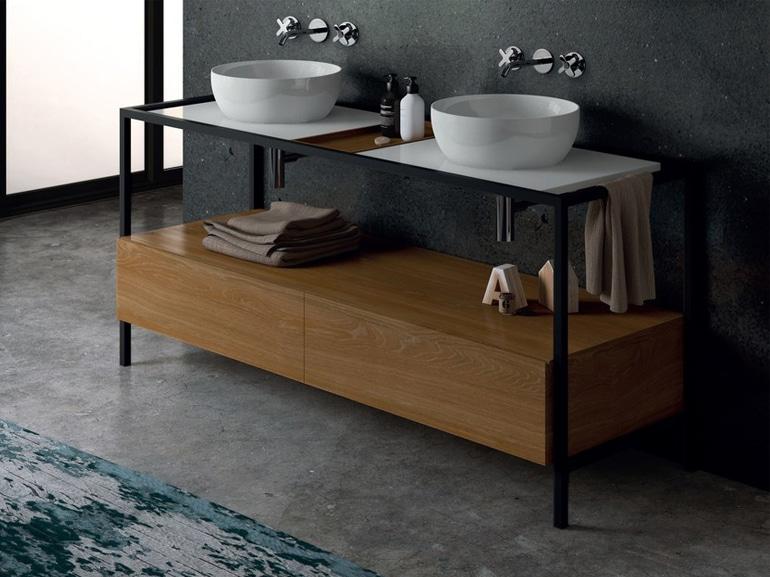 mobile bagno doppio lavabo 13