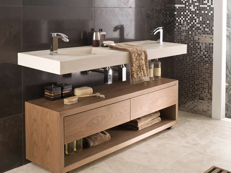 Il mobile bagno con doppio lavabo: 10 modelli da comprare ...
