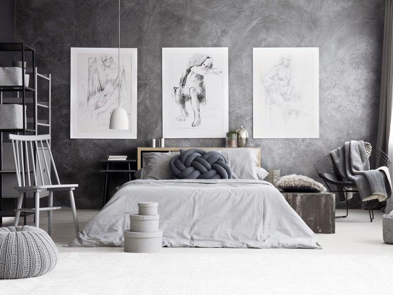 mobile decorazioni camera da letto