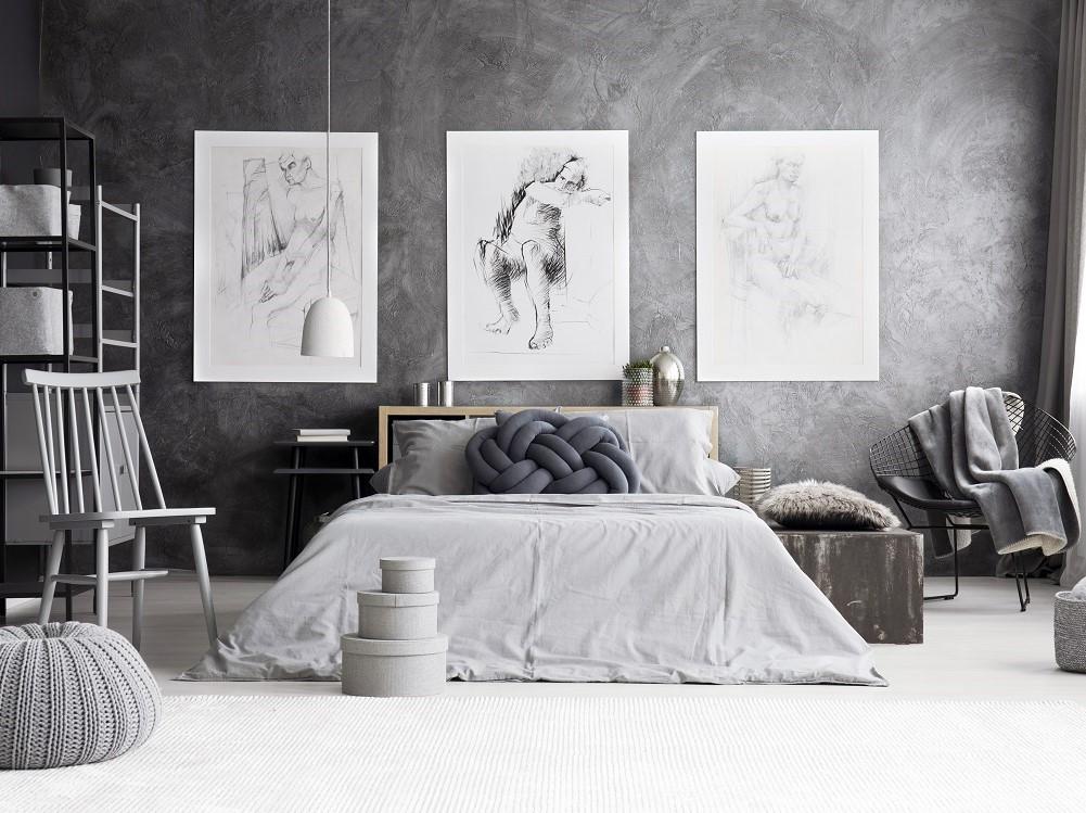 7 decorazioni originali per le pareti della camera da letto ...