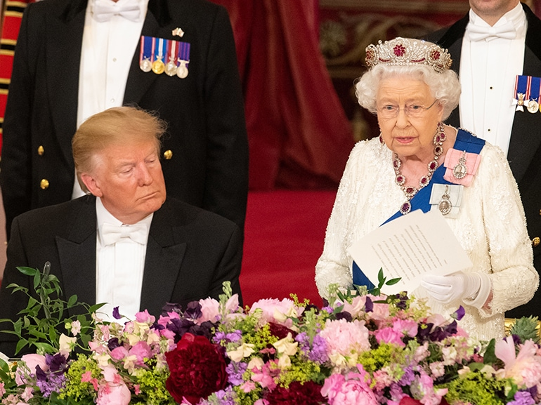U.S. President Trump's State Visit To UK – Day One