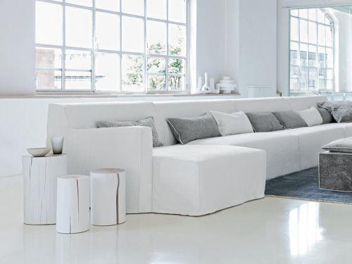 Tutti pazzi per il soggiorno moderno bianco - Grazia.it