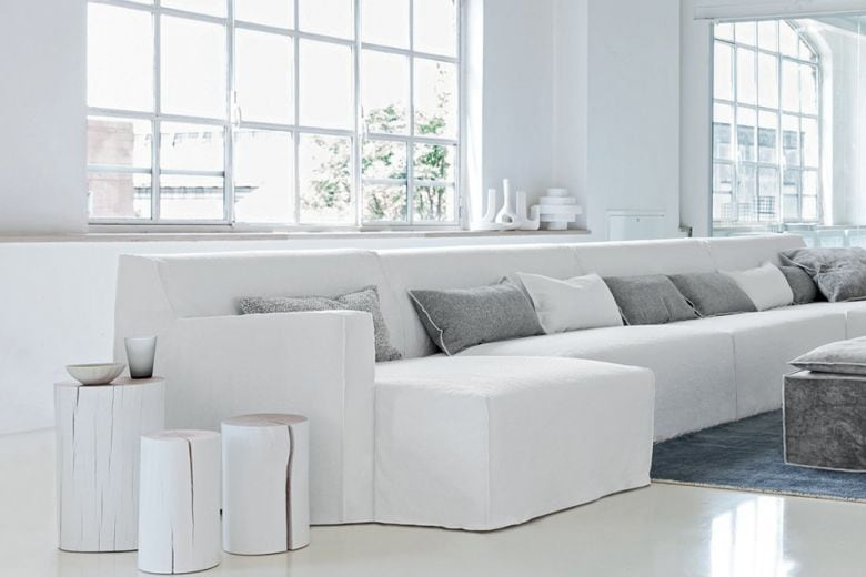 Tutti pazzi per il soggiorno moderno bianco