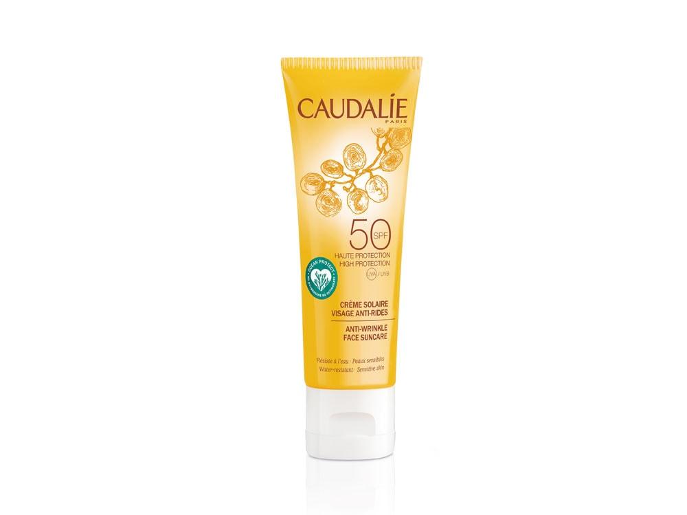 CAUDALIE-Crème-Solaire-Visage-Anti-rides-SPF50