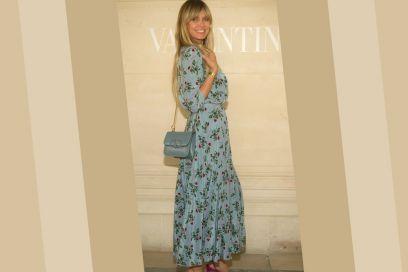 L'abito a fiori? Quello azzurro di Heidi Klum è da favola!