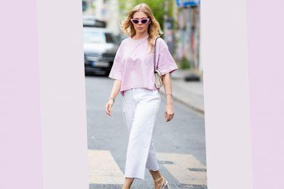 Come abbinare i jeans bianchi quest'estate? Ecco un look tutto da copiare