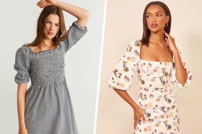 Abiti con lo scollo quadrato: i modelli più fashion dell'estate 2019