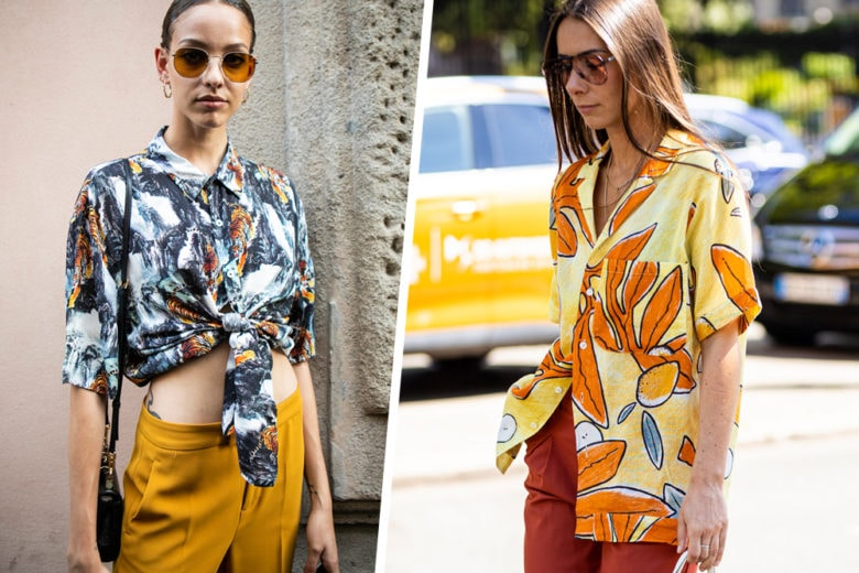 Camicie stampate: i modelli di tendenza per l'estate 2019