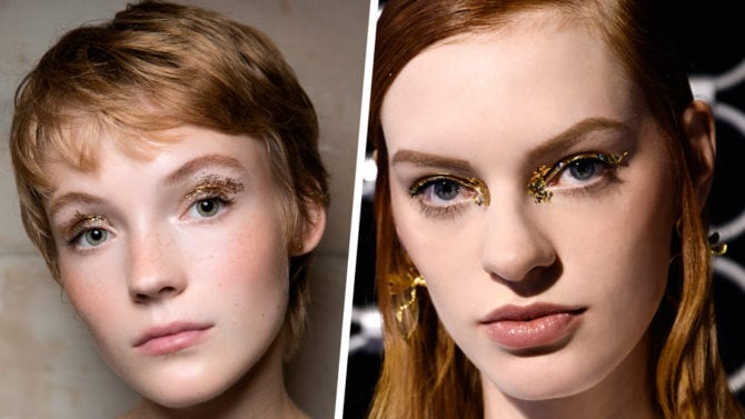Golden girl: il make up oro e bronzo per un effetto shimmer