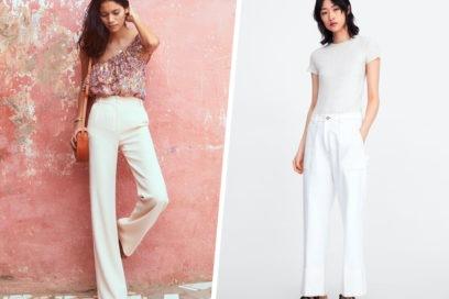 11 pantaloni bianchi che non vedrete l'ora di indossare questa estate!