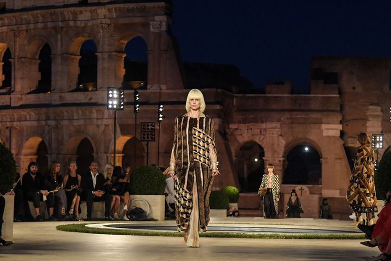 "Fendi Couture: ""The Dawn of Romanity"""