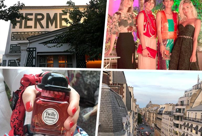 Sui tetti di Parigi con Twilly d'Hermès Eau Poivrée