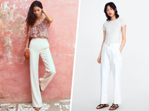 b4784fe391ef72 Pantaloni bianchi: 11 modelli da provare per l'estate 2019