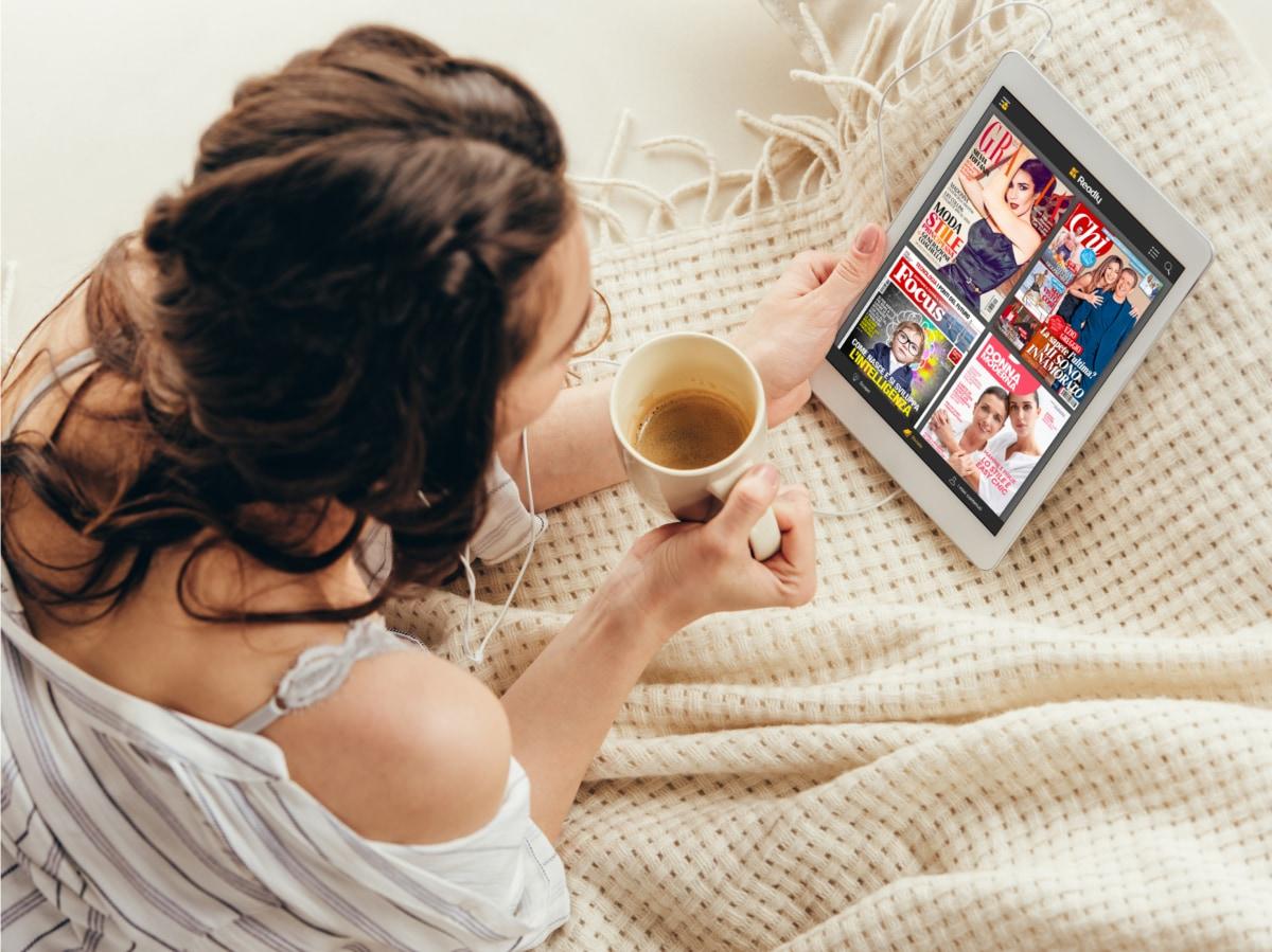 Readly app per leggere da device 1