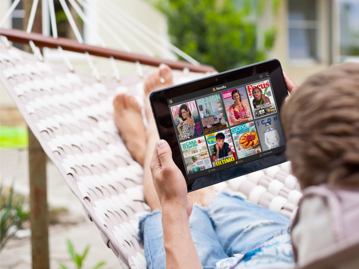 Readly app per leggere da device 3