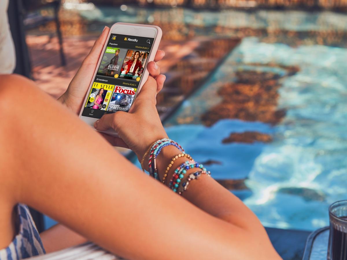 Readly app per leggere da device 5