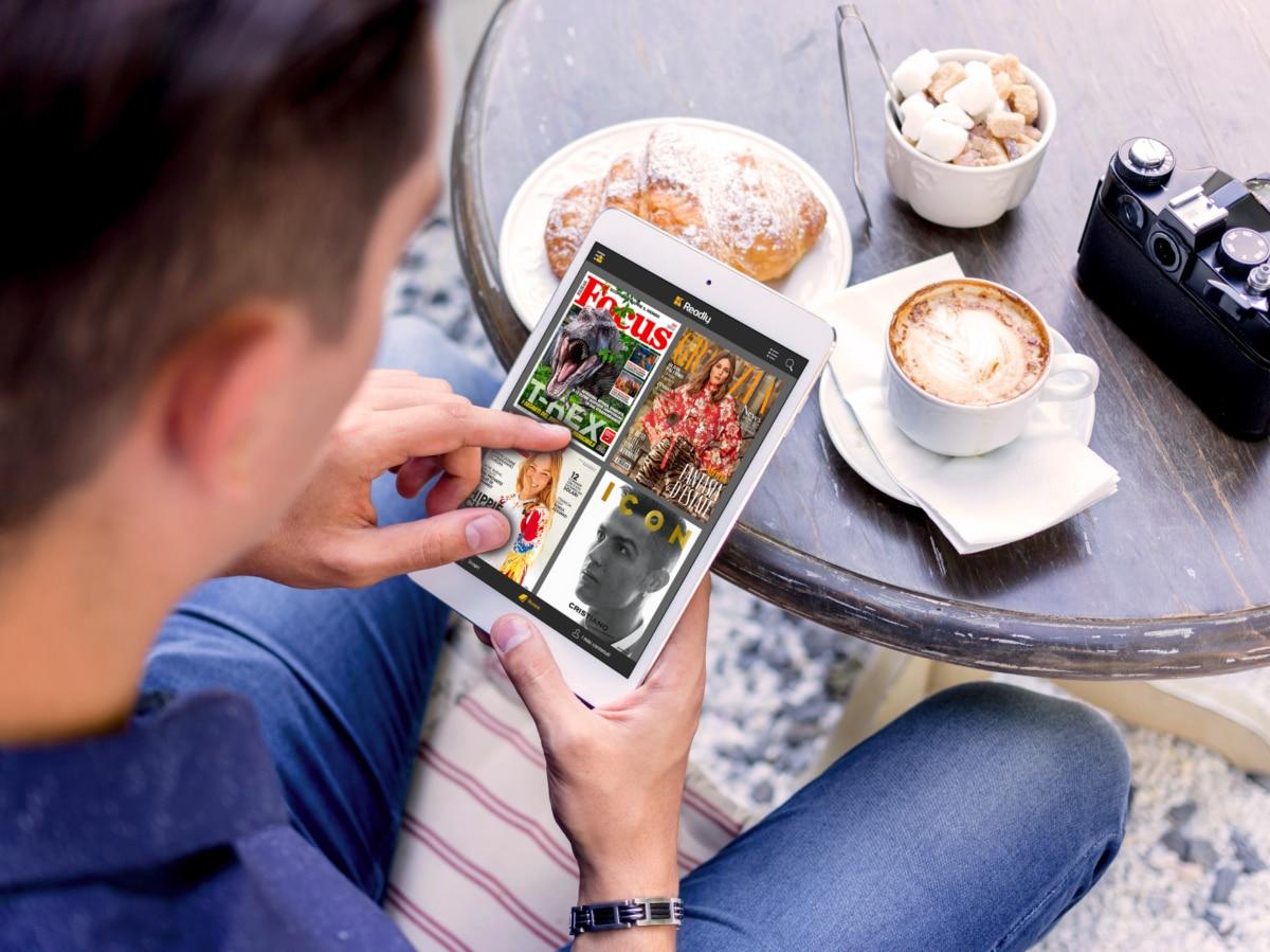 Readly app per leggere da device 6
