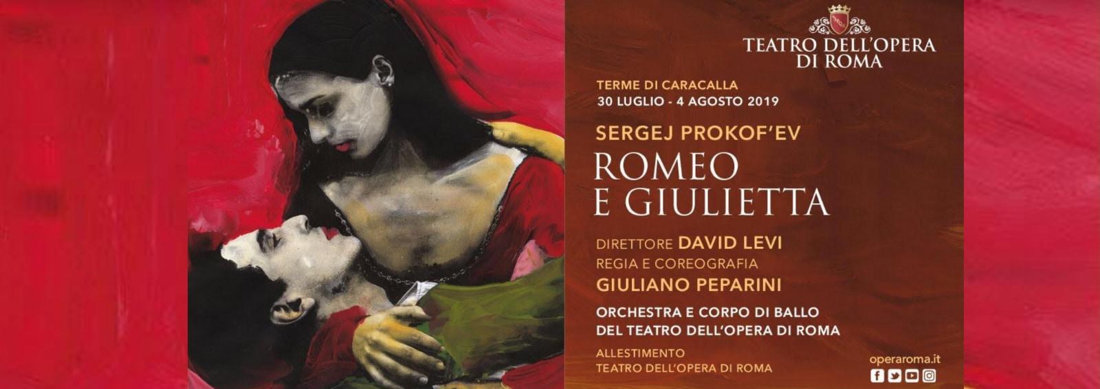 Romeo e Giulietta Terme Caracalla Roma DESK
