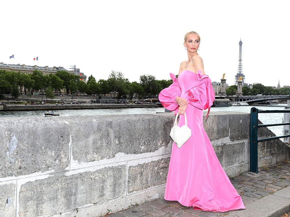 Tatiana-Korsakova-arrives-at-the-Dior-Show-getty