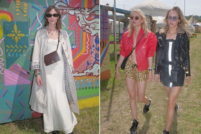 Alexa Chung, Dua Lipa e le altre star al Glastonbury Festival