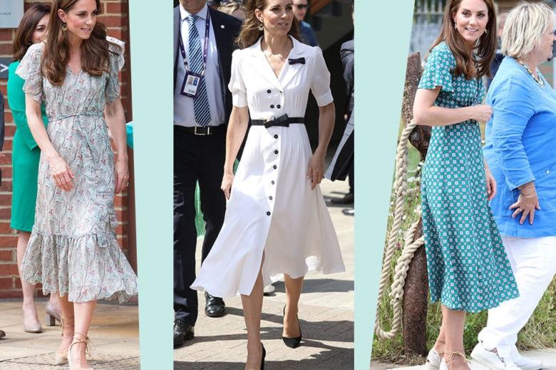 Tre abiti indossati da Kate Middleton che vorremo subito nei nostri armadi!
